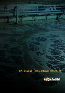 Instrument för Vatten & Reningsverk